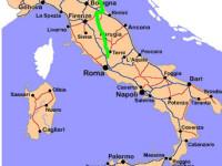 No secco alla Autostrada Orte-Mestre