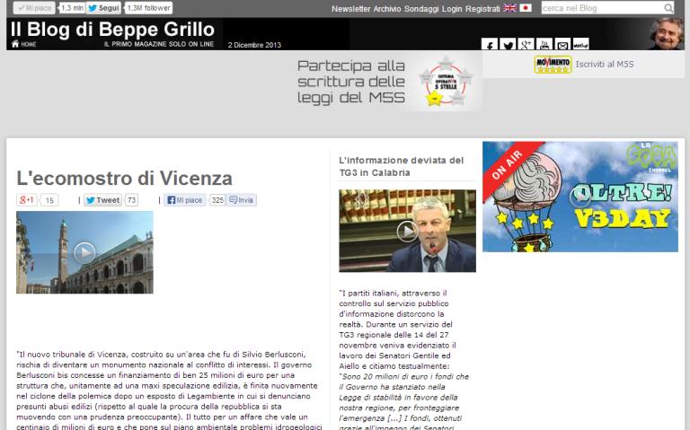 L'ecomostro di Vicenza