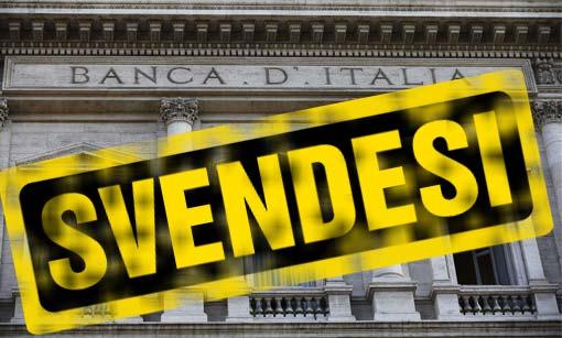 Vergognosa situazione nella ricapitalizzazione Banca D'Italia