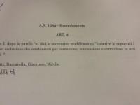 Emendamento contro la corruzione bocciato da Pd/Pdl in Commissione Giustizia