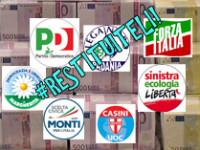 Precisazioni sui finanziamenti pubblici: il PD non ha abolito nulla !